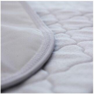 chłonny podkład na łóżko wielokrotnego użytku, biały